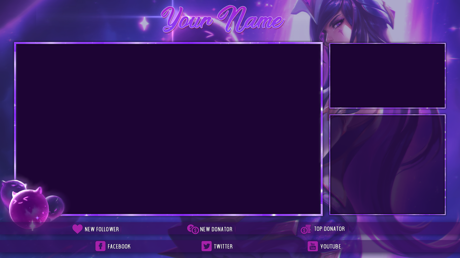 Twitch stream overlays- LasCurry