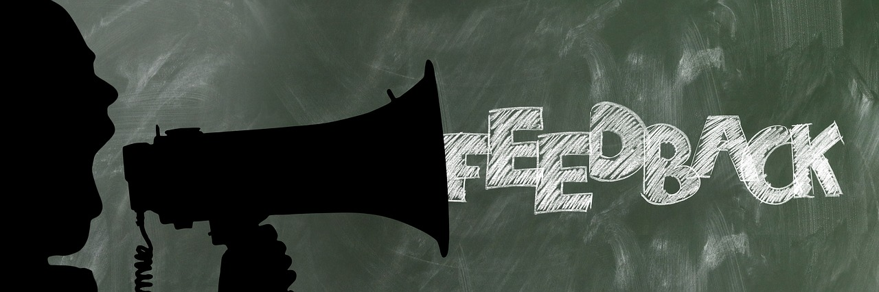 Pay attention to feedback