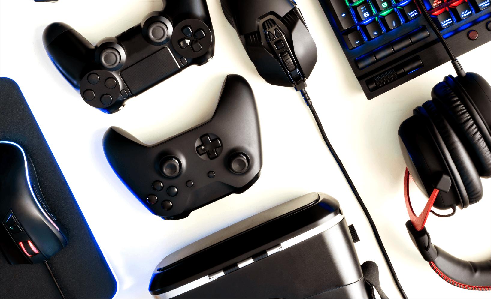 gaming equipments